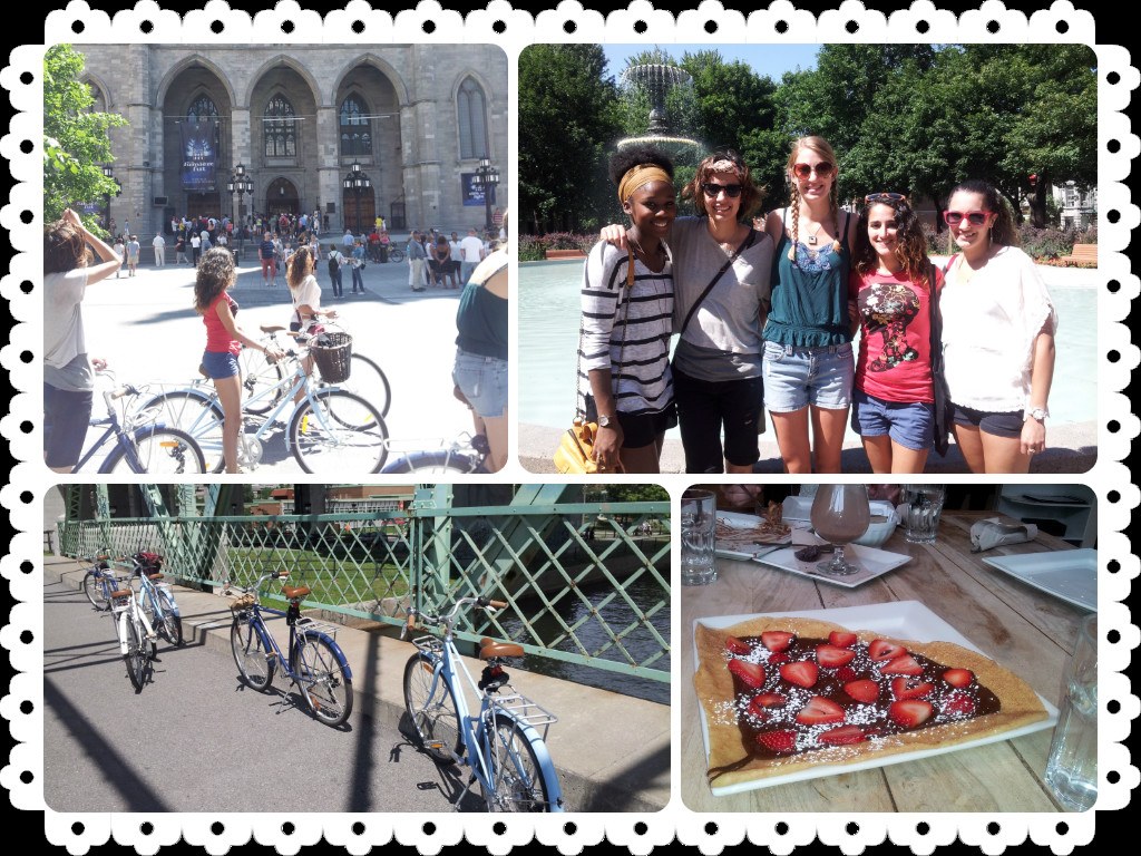 Bikes, Notre Dame and Crepes