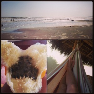 Playas Ecuador, fun, sun, hammocks and exotic fruits